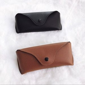 💰⬇️Harley Faux Leather Sunglass Case